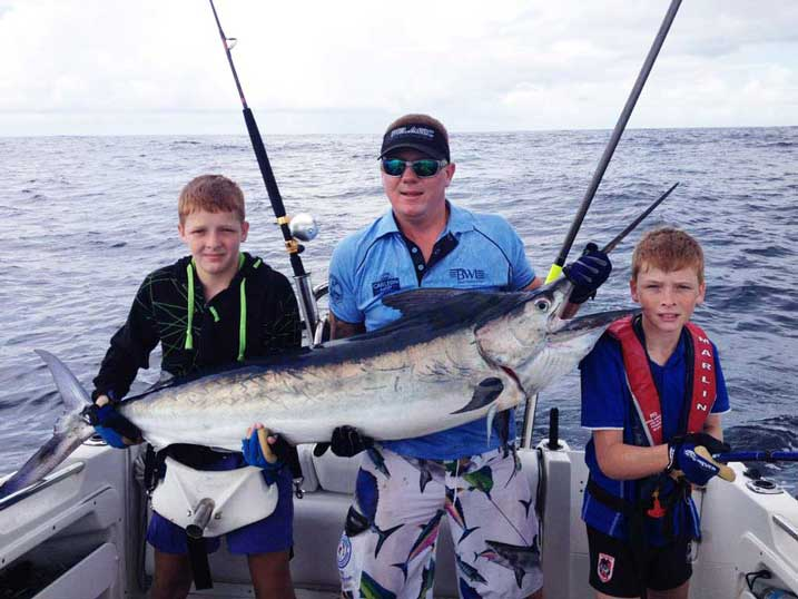 Isaac Black Marlin Port Stephens
