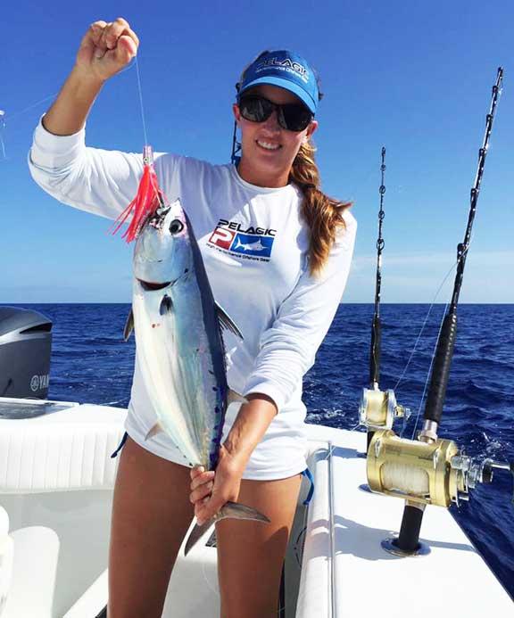 Sara Stripjack Tuna Bahamas